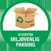 Miljørigtig inpakning logo